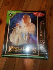 Poster Puzzle: 2002 Lord of the Rings The Two Towers 500 Piece Jigsaw Puzzle.NEW