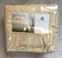 Hotel Collection Patina Gold QUEEN Duvet / Comforter Cover AT MACY'S $370