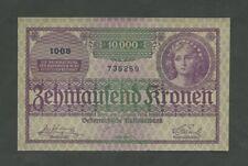 More details for austria  10,000 kronen 1924  krause 85  about ef banknotes