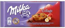 Milka Collage Raspberry - NEW - four (4) Bars for you - Old German Brand