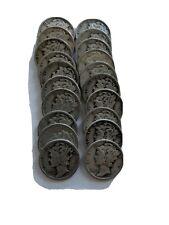 Mercury Dimes - Lot of 20 random date 90% Silver Mercury Dimes