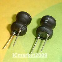 10 piezas LH0912-201M energía con plomo Radial 200uH 9x12MM Dip inductor de nuevo 200 UH