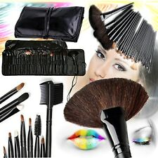 Pro Makeup Brush Set in Case - 32 Pieces - Awesome BRIDESMAID Gifts!