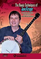 Banjo Techniques Of Jens Kruger *New* Dvd