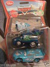 cars 2 cars2 cars dinoco lightning mcqueen and dj 5° serie rara disney + 2 cards