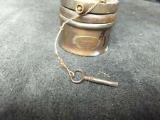 Vintage Wolf Mine Safety Lamp W Key