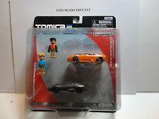 Tomica Hyper City Rescue (2) Lamborghini Murcielago LP640 Set w/(2) Figures