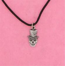 ENGLISH PEWTER - BARON SAMEDI - PENDANT NECKLACE VOODOO DEATH