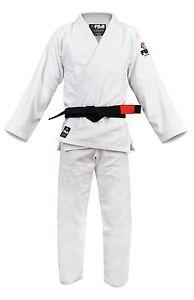 New Fuji Sports All Around Mens Brazilian Jiu Jitsu Gi Jiu-Jitsu BJJ - White