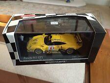 Minichamps Porsche 911 GT1, British GT Championship, Excl for Kyosho,1/43 scale.