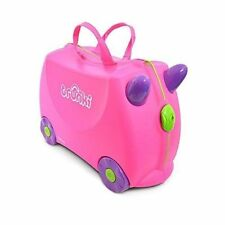 Trunki Ride-on Suitcase Kids Luggage Trixie Pink -