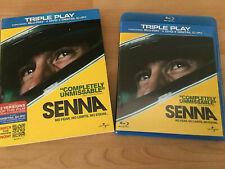 Senna  Blu-ray & DVD   Ayrton Senna True Story   VGC