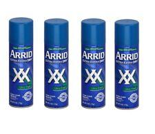 4 PACK ARRID XX Anti-Perspirant Deodorant Spray