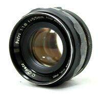 Petri C.C Auto 1:1.8 55mm Lens *As Is* #W020c