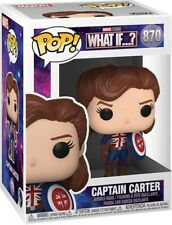 What If? Captain Carter Pop Marvel #870 Vinyl Figure Funko