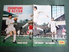 Leeds united action shot-centre page photo-coupure/cutting