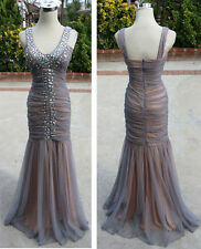 City Triangles Silver Prom Ball Formal Gown 9 - $157 NWT