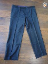 // Hugo Boss Parkway1 Dark Gray Flat Front Men's Dress Pants Size 38R