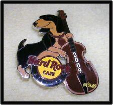 HARD ROCK CAFE ATLANTA DOG SERIES #3 DACHSHUND PIN 2009
