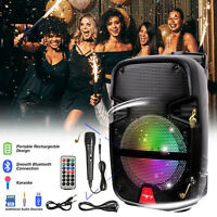 🔥Portable Wireless Bluetooth Party DJ Tailgate Speaker Bluetooth USB Loud 🔥