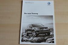 76943) VW Touareg - Technik & Preise & Extras - Prospekt 03/2010
