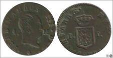 España Fernando VII 01657 BC / F 1 Maravedi 1830 Pamplona / Fernando III / 1/2