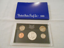 COINS:US Proof Set 1968/5 coins:Penny/Nickel/Dime/Quarter/Half-Dollar