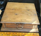 Antique CORBIN LOCK CABINET Set of Drawers Solid Oak New Brittan Conn.