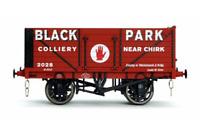 Dapol 7F-071-037 7 Plank Wagon Black Park Chirk 2028 O Gauge