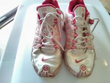 Nike SHOX NZ 25th Anniversary Pearly Leather Razzle Pink 316087-111 Sz 8 Used