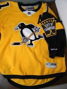 PITTSBURGH PENGUINS hockey jersey EVGENI MALKIN STADIUM SERIES 2017 youth L / XL