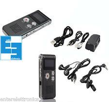 REGISTRATORE AUDIO PORTATILE MP3 USB DIGITALE+ REGISTRAZIONE SU TELEFONO FISSO