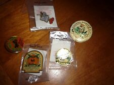 assorted lot of  collections pins button collectible  motorcyle s.c. goldwing
