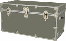Etonnant Rhino Storage Trunk Footlocker 36x18x18 For Camp, College U0026 Dorm.