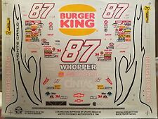 Joe Nemechek Burger King Whopper Chevy Monte Carlo Decals 1/24 Scale Slixx