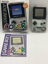 [Used Excellent]Nintendo Game Boy Color (Clear) F/S from Japan w/Tracking