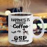 COFFEE WITH GSP DOG MUG, GERMAN SHORTHAIRED POINTER GSP COFFE MUG, GSP DOG GIFT