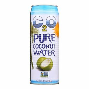 C2o - Pure Coconut Water Pure Coconut Water - Case Of 12 - 17.5 Fl Oz