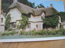 POSTCARD  SELWORTHY SOMERSET A BEAUTIFUL THATCHED  KSL 101  14 X 9 CMS