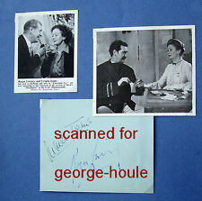 ROGER LIVESEY - AUTOGRAPH  - URSULA JEANS  - THE LIFE & DEATH OF COLONEL BLIMP