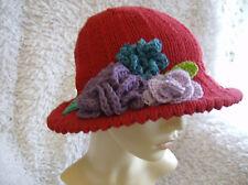Queenie's Garden - Ladies Broad Brimmed Sun Hat - Simple Knitting Pattern