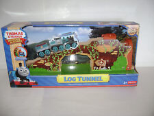 NEW Fisher Price Thomas & Friends Wooden Railway Train LOG TUNNEL Wood RETIRED