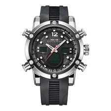 Weide Hombres Deportes Reloj Dual Deportivo LCD Digital Silicone Strap Watch Hot