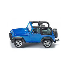 Siku 1342 Jeep Wrangler metallic blue (Blister pack) Model car new! °