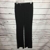Express Womens Size 0 Black Editor Career Dress Pants Trouser Wide Leg J97