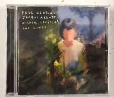 PAUL HEATON & JACQUI ABBOTT  WISDOM, LAUGHTER AND LINES CD ALBUM