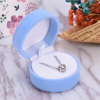 Velvet Snowflake Pattern Rings Earrings Box Delicate Jewelry Display Box SALE