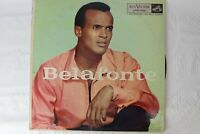 Harry Belafonte Self titled Vinyl Record LP Pop RCA Victor Records