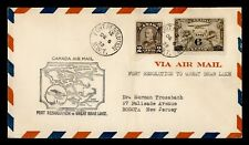 DR WHO 1932 CANADA FIRST FLIGHT FORT RESOLUTION NWT TO GREAT BEAR LAKE  g23860
