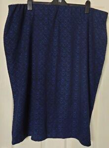 Ladies Stretch Straight Skirt Plus Size 32/34 By Marisota BNWT